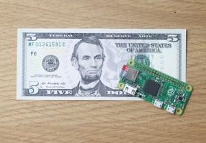 Raspberry Pi Zero: the $5 computer