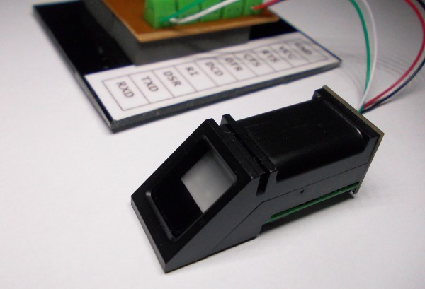 ZFM-20 fingerprint capture library