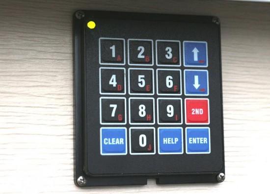 Keypad based garage door access