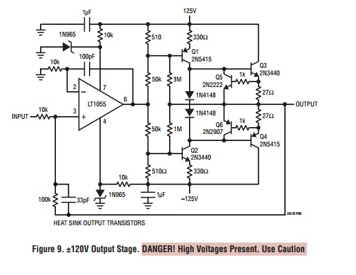 App note: Power gain stages for monolithic amplifiers