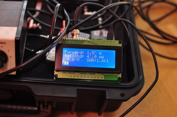 Homebrew SWR and power meter