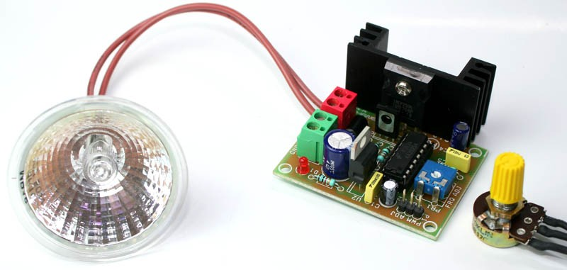 PWM Halogen Lamp Dimmer