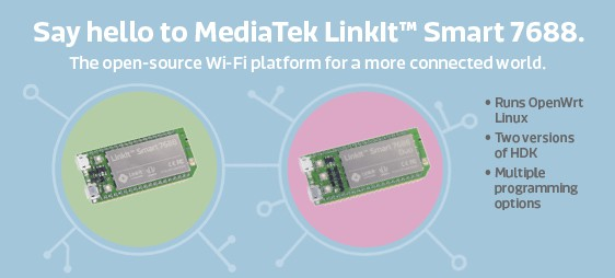 MediaTek Labs LinkIt™ Smart 7688 Open-Source IoT