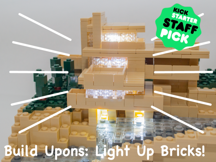 "Christmas DIY project for children 1/3: ""Build Upons"" World's Tiniest Light Up Bricks"