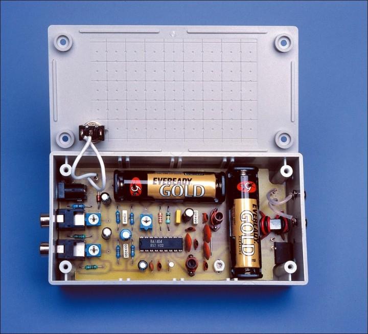 BA1404 3V Stereo FM Transmitter