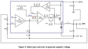 App note: How to generate a negative voltage using buck converters?