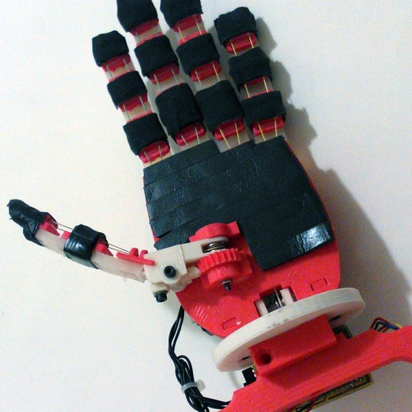 OpenBionics Affordable Prosthetic Hands Wins Second Hackaday Prize 2015
