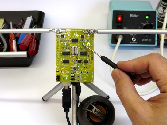 The real open source Theremin on Arduino