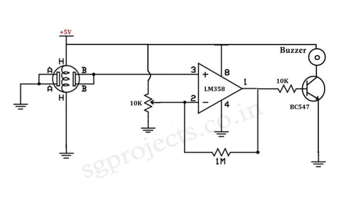 LPG Sensor Alarm