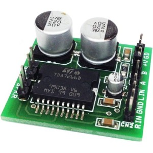 3W Stereo Audio Amplifier using TDA7266D