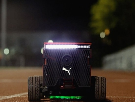 PUMA's robot can beat you (and Usain Bolt) in a race