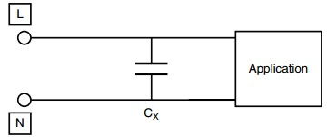 App note: AC film capacitors in connection with the mains