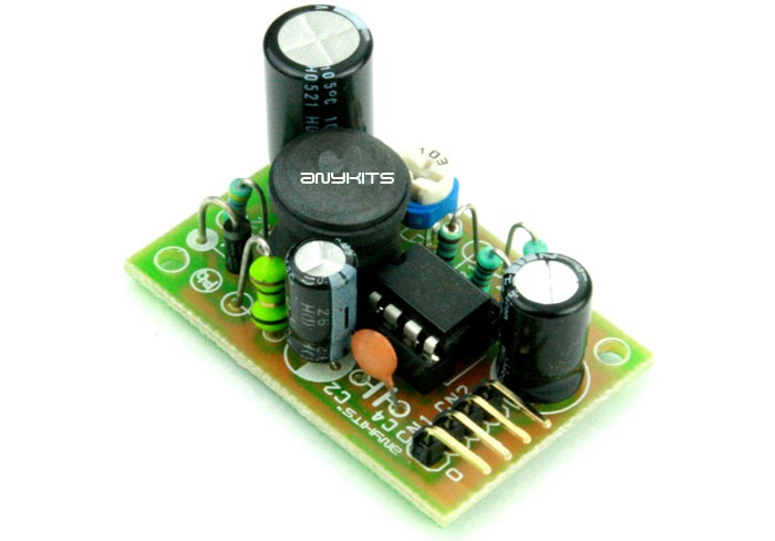 12V to 28V Step Up DC-DC Converter