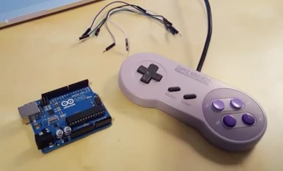 Turn your SNES gamepad into a USB controller