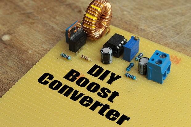 ATtiny85 Boost Converter