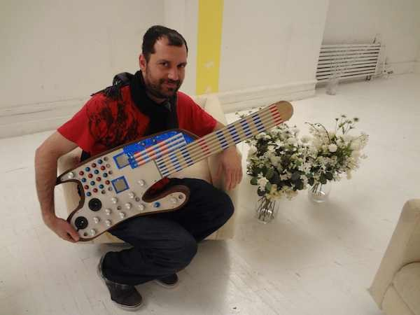 SMOMID is a Mega-powered MIDI guitar