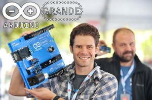 The Arduino GRANDE is six times larger than an Uno