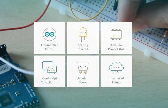 Arduino Create is a one stop shop for Makers