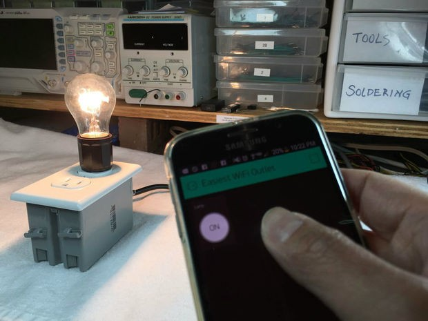 DIY WiFi Outlet using ESP8266