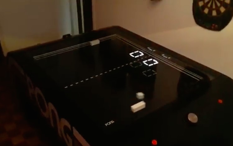 Pong Project is a tabletop version of the classic game