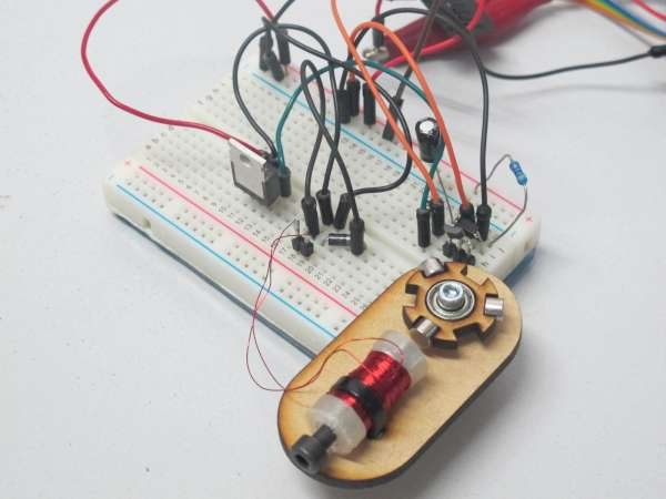 Build a simple brushless motor