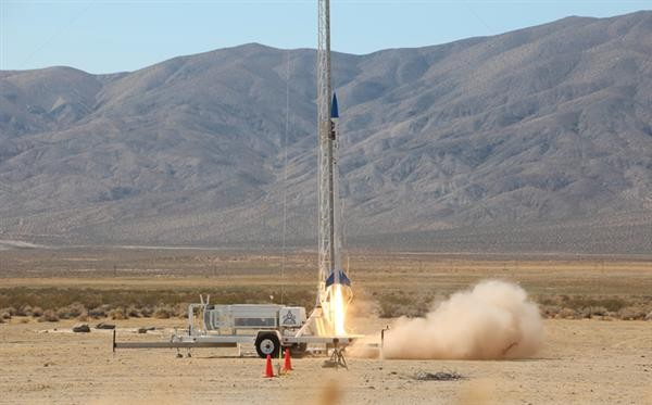 Students successfully launch Vulcan-1 rocket with fully 3D printed engine