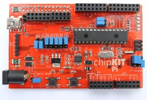 chipKIT Pi Dev Board