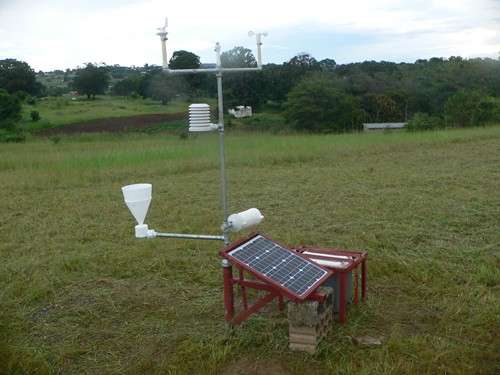 Forecasting the Rains Down in Africa: 3D Printed Weather Stations with Raspberry Pi
