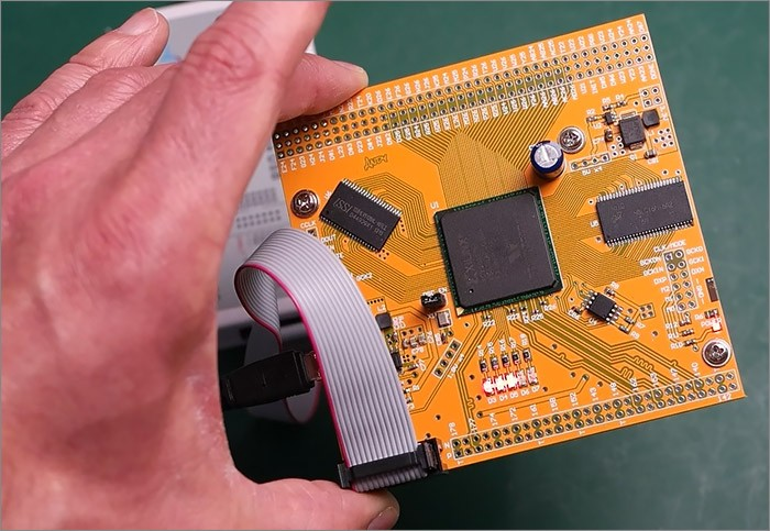 Working with the Xilinx Virtex-E FPGA in a huge BGA package