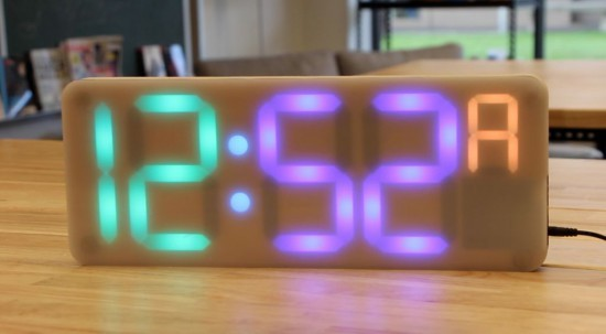 A DIY digital Arduino clock designed for and by teachers