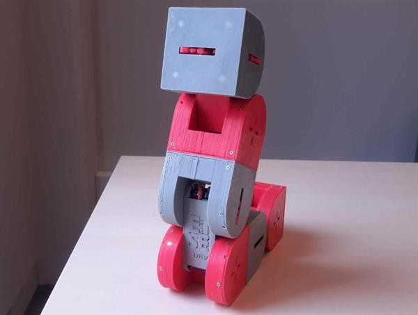 Dtto: a modular 3D printed robot that can build itself