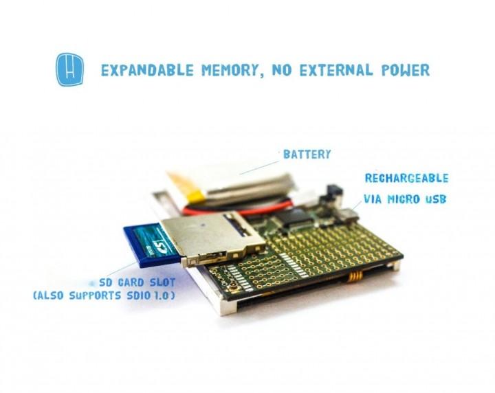 HackPOD – 32 bit ARM Cortex-M4, programmable in Arduino