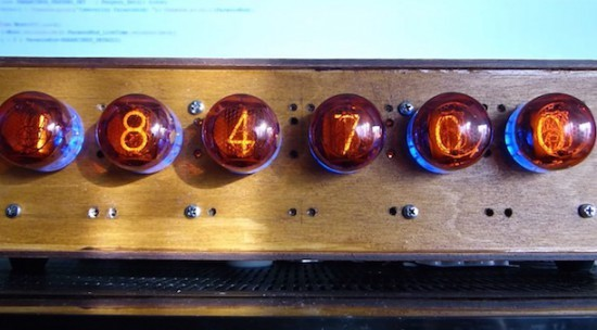 A DIY Arduino Nixie tube clock