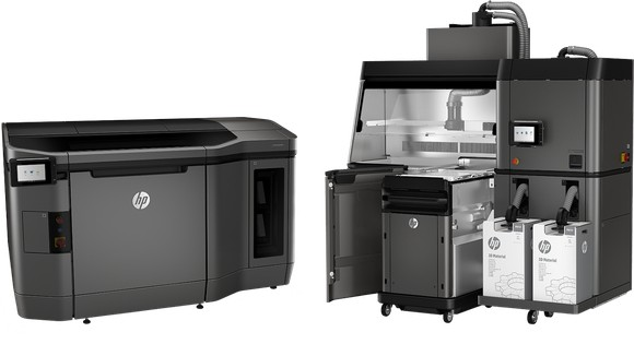 HP Launches Speedy 3D Printer: 10x faster
