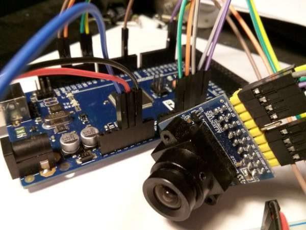 Arduvision II: OV7670 + FIFO module and arduino Mega