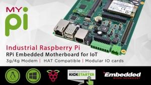 MyPi : Industrial grade Raspberry Pi on Kickstarter