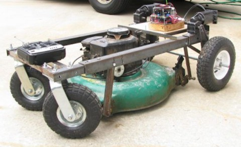 Remotely Mow Your Lawn With Arduino