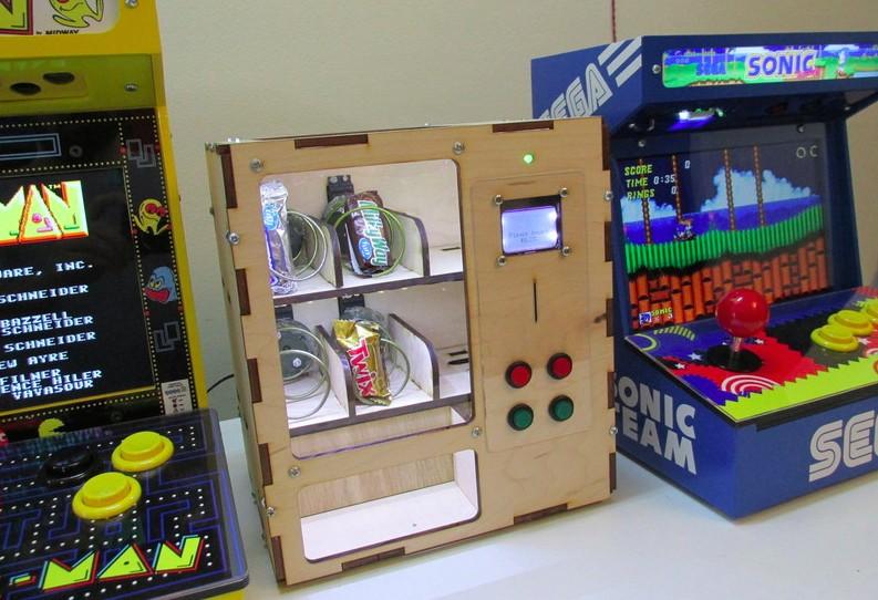 Venduino is a DIY Arduino vending machine