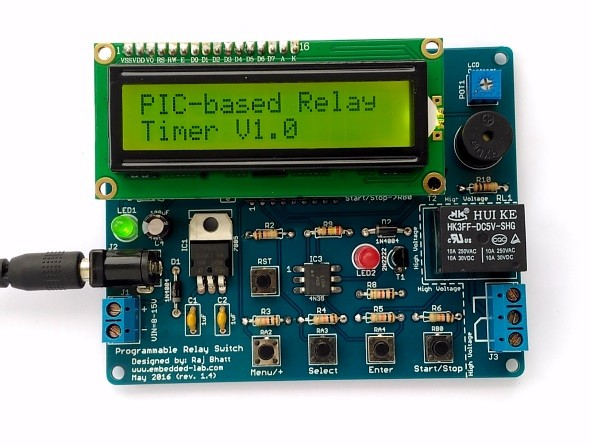 PIC Programmable Relay Switch