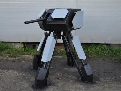 Make Your Own Autonomous Paintball Sentry Gun