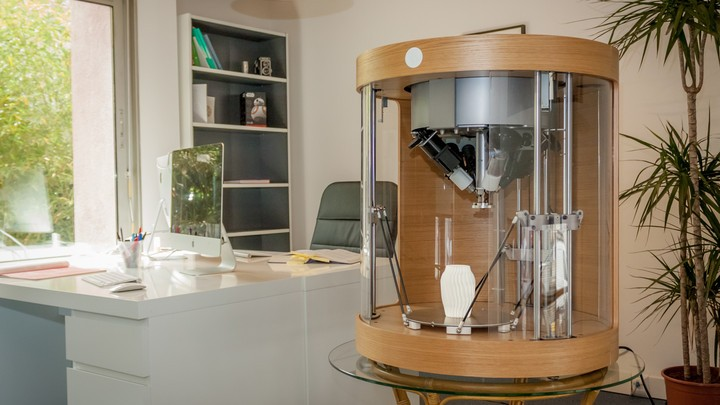 Pam: a pellet-based 3D printer able to print four different materials at the same time