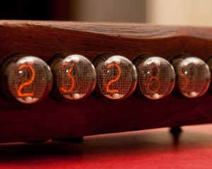 IN-4 Nixie Clock using ATmega168