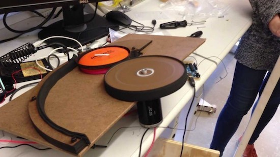 Creating an automatic targeting frisbee launcher with Arduino