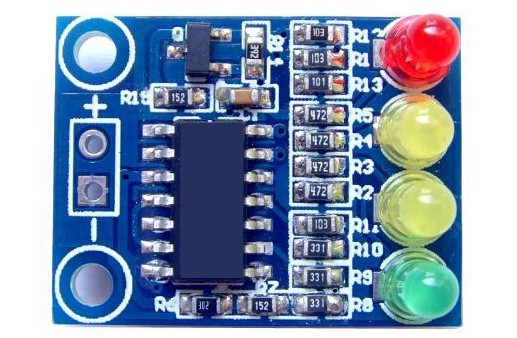 How to design a Battery charge indicator circuit