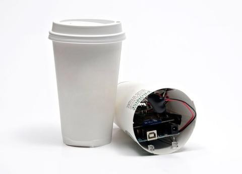 Build an Arduino Powered Coffee Cup Spy Camera