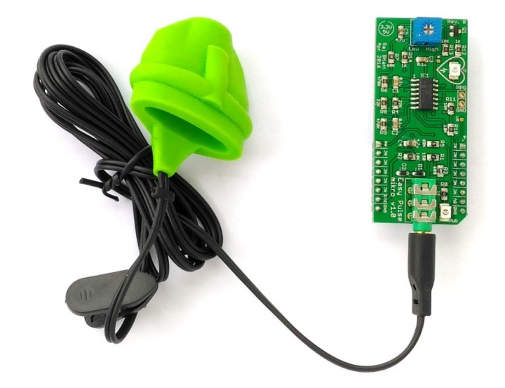 Easy Pulse mikro – MikroBus form factor pulse sensor