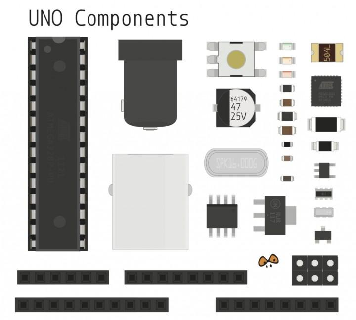 Arduino UNO Components library