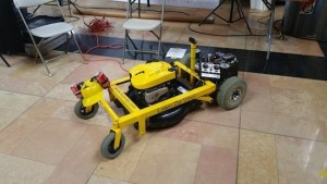 Lawn Da Vinci is an open-source, remote-controlled lawn mower