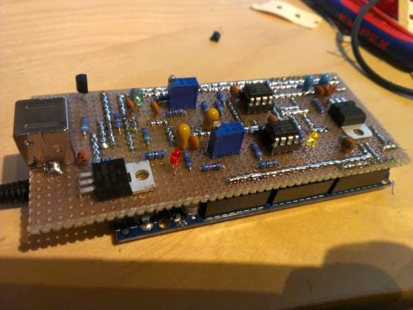 Homebrew Multimode Digital Voice Modem (MMDVM) adapter