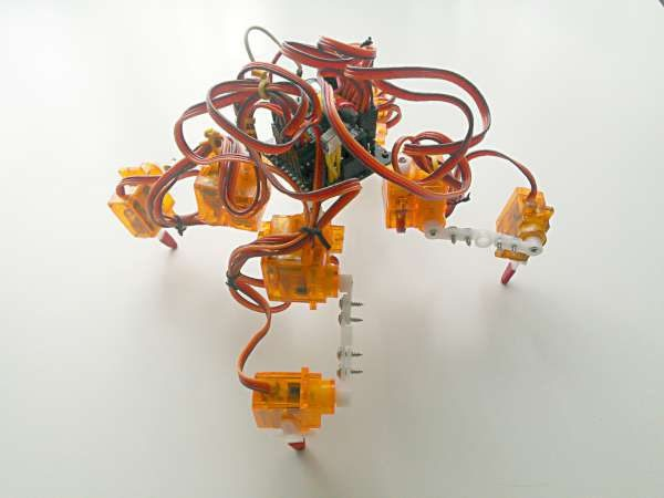 Tote – Quadruped robot